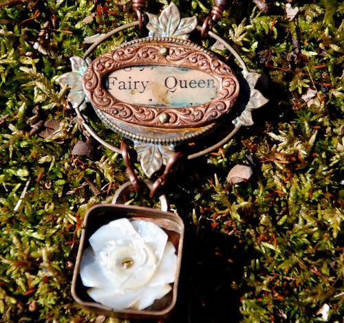 Fairy queen up close