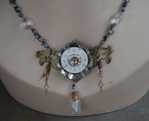 Cinderella necklace is finished