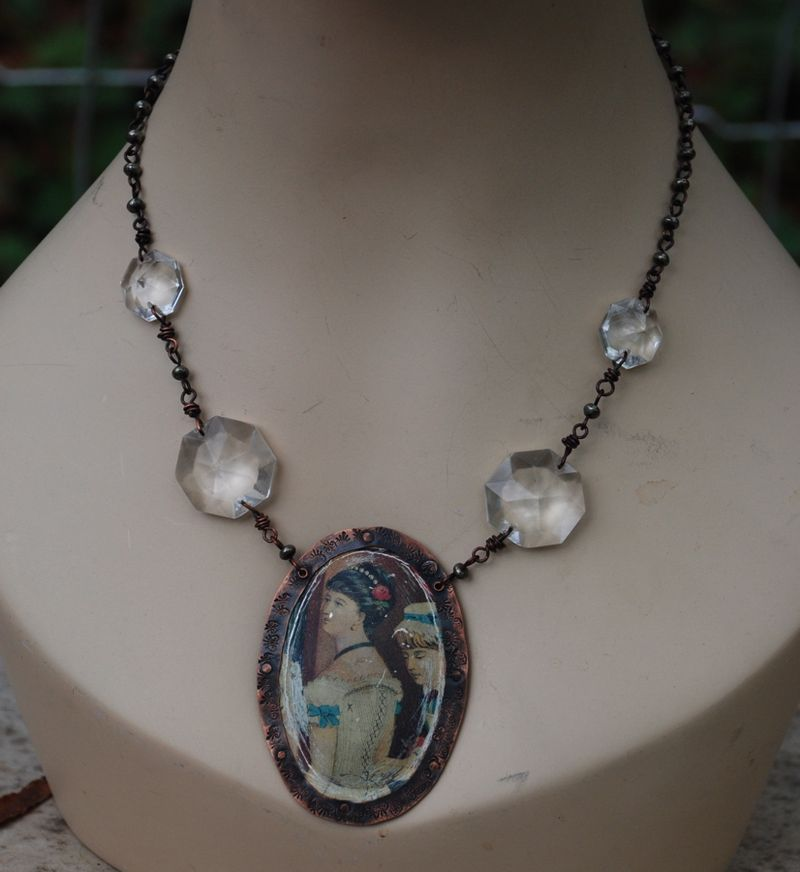 Corset lover necklace 4