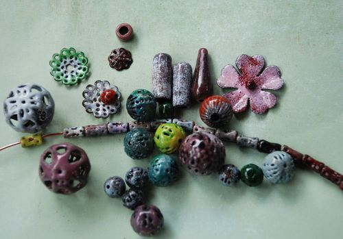 Enamel beads with the proper torch head