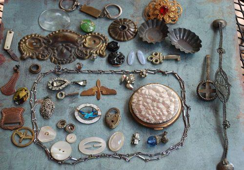 Flea market treasures