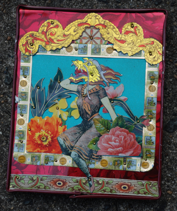 Ophelia S Adornments Blog May 2012: The Pink Hare: Sometimes The Time To Make Art Finds You