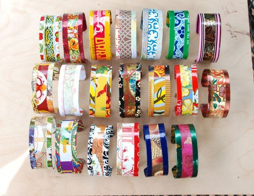 Tin cuffs all 20
